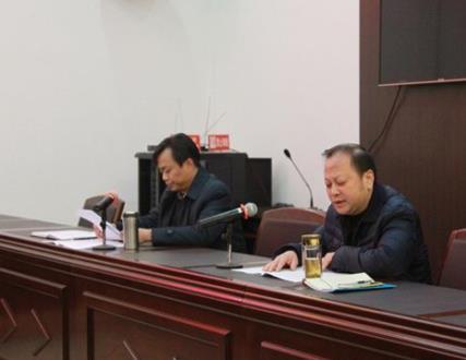 荆州中院副院长张运平到石首法院宣讲十九大...